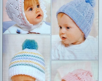 Teddy Knitting Patterns, Hatfield patterns birth to 2 years, double knittglazed - 7158