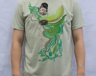 Nujabes - Feather T shirt Artwork