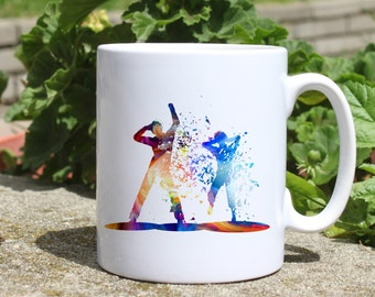 Dance music mug - Party people mug - Colorful printed mug - Tee mug - Coffee Mug - Gift Idea