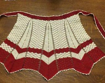 Vintage Crocheted Apron