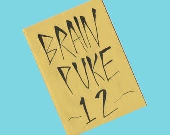 Brain Puke 12 - Zine