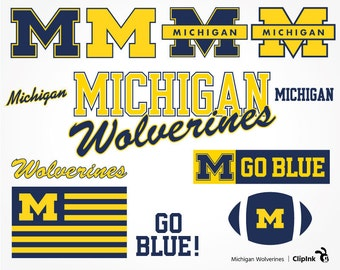 Michigan Wolverines svg, Wolverines clipart, Michigan svg silhouette, digital – svg, eps, png, dxf, pdf. Decor Cut Print Mug Shirt Decal.