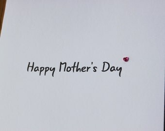 Hand-crafted Mother's Day Card