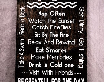 Camping Rules,Beer Sign,Camping Sign ,Gift,Outdoor,Camping,Father's Day,Home Decor,Mother's Day Gift, Camper,R.V.,Christmas Gift