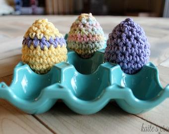 Easter Eggs Pattern / Crochet Pattern / Crochet Easter Eggs / Easter Crochet