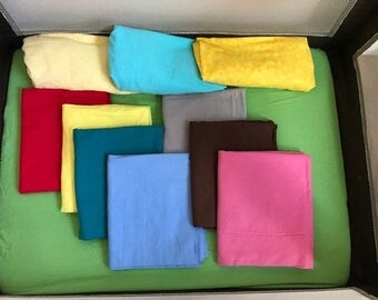 Pack N Play Fitted Sheet Solid Colors