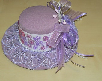 hat from Milena lilac