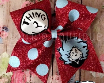 Thing 1 or Thing 2 Bow