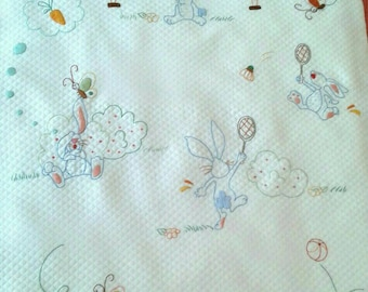 Quilt cover with inner jacket for hand embroidery nursery