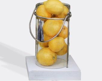 centerpiece feature piece for indoor or outdoor table fruit stacker / potpourri vase