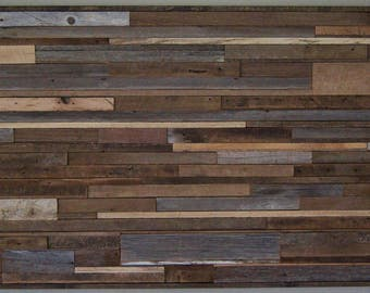 Rustic - Reclaimed Wood Wall Art Sculpture - Reclaimed 22