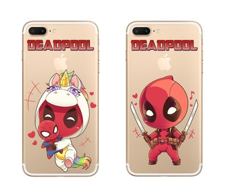 Deadpool Chibi Custom Phone Case