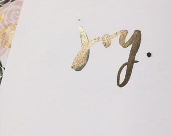 Joy   Card stock