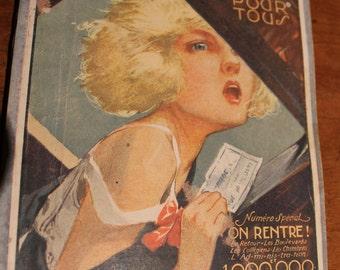 Old French magazine 1920