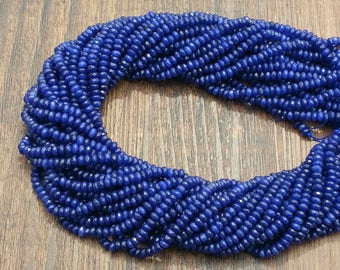 """Indigo Blue Purple Jade 4x2.5mm faceted rondelle beads approx. 15"""" strand or 7"""" strand roundelle lapis color"""