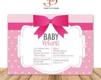 Baby Shower Digital Invitation