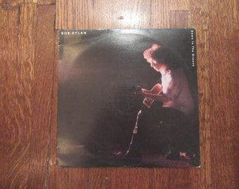 "Bob Dylan - ""Down in the Groove"" Vinyl Record"