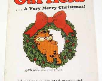 Garfield...A Very Merry Christmas - Vintage - GCSB-2
