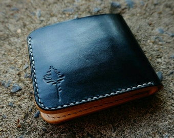 Wallet,Bifold Wallet,Handmade Leather Bifold Wallet,Bifold,Man wallet,Minimalist,vegtan leather,Handcrafted,Gift