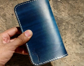 Handmade Leather Middle Wallet