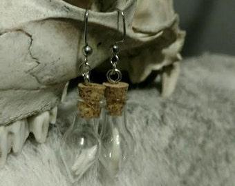 Raccoon Teeth Earrings