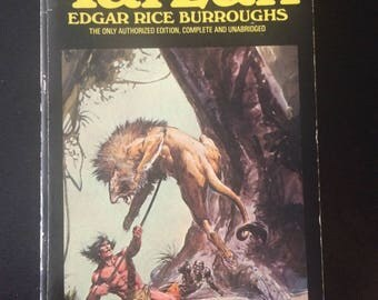 Return Of Tarzan Novel - Written By Edgar Rice Burroughs