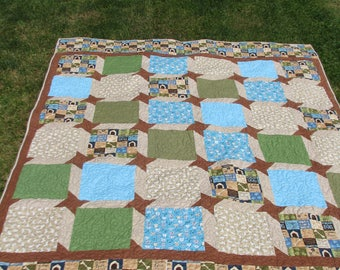 Dog Lover's Twin Quilt