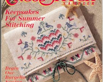 Cross Stitch Sampler Magazine -Summer 1994