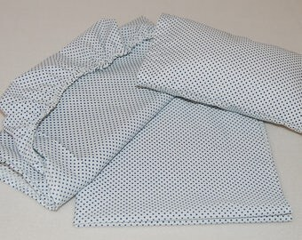 Sheet set for twin doll bed