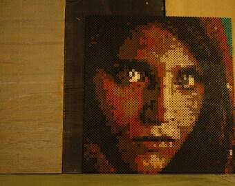 Afghan Girl ( perler edition)