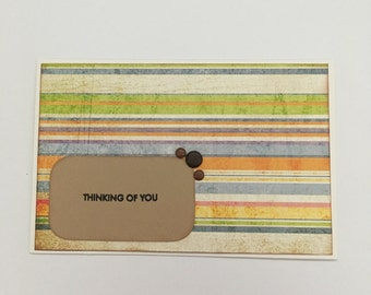 Handmade Card - Thinking of You (ToY5)