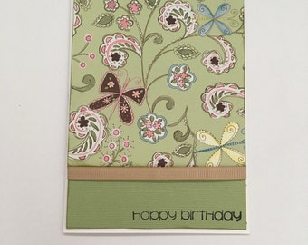 Handmade Card - Happy Birthday (HB08)