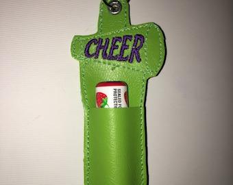 Cheer Megaphone Chapstick Holder