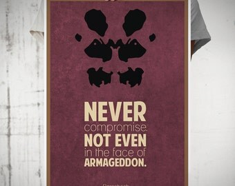 Rorschach A3 Poster Print