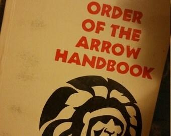 Order of the Arrow Handbook Vintage Boy Scout Manual