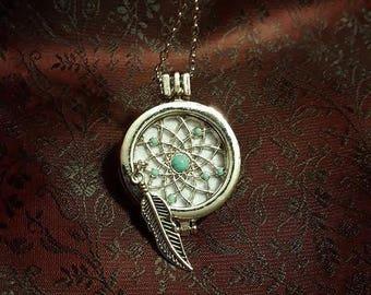 Aromatherapy Necklace - Dreamcatcher