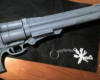 Cerberus Weapon, Final Fantasy VII, Vincent Cosplay