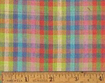 """Bubblegum 3 Homespun Fabric (Full Yard 36"""" x 44"""")"""