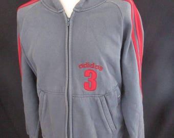Hoodie vintage Adidas grey size M