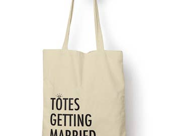 Totes Getting Married Cotton Tote Bag