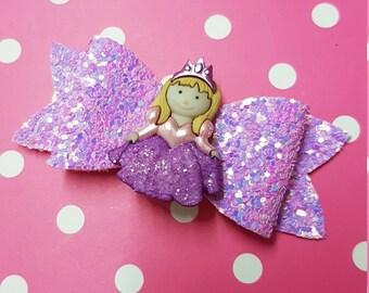 "3"" Princess bow"