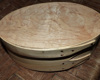 Shaker Oval Box Handmade in the shaker tradition