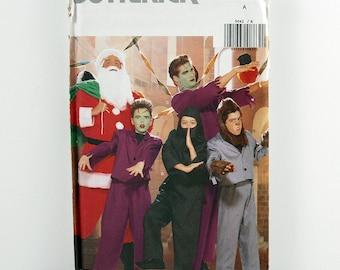 Butterick Pattern 5042 Men's/Boys' Monster Costumes, Halloween, Santa Suit Pattern, Werewolf Costume, Frankenstein Costume, Ninja Costume