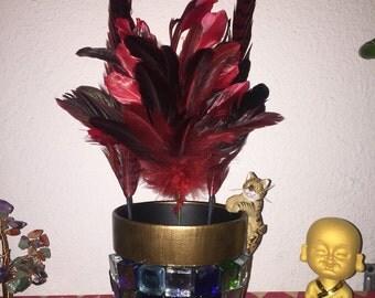 Mosaic Kitty Flower Pot