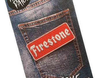 Firestone Embroidered Iron On Patch
