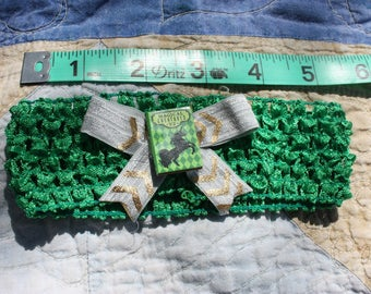 Green Fantasy Baby Headband