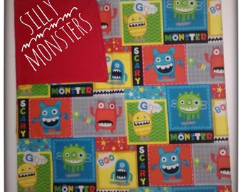 Silly Monsters blanket