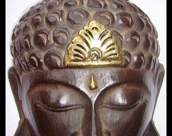 Mask Buddha Zen Buddhism wooden Wooden Buddha