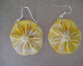 Star Anise flower earrings