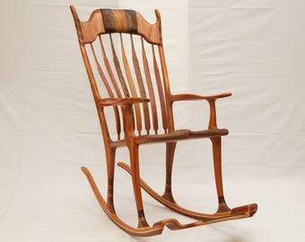 rocking chair maloof-sedia a dondolo